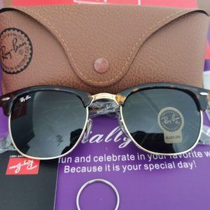 Ray-Ban RB3016 Clubmaster Sunglasses Unisex